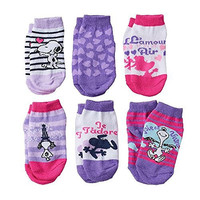 "Peanuts Snoopy ""Love"" Toddler Socks for Girls 2T-4T"
