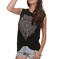 Workshop Henna Heart Tee at PacSun.com