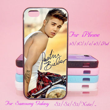 Justin Bieber,Signature,iPod Touch 5,iPad 2/3/4,iPad mini,iPad Air,iPhone 5s/ 5c / 5 /4S/4 , Galaxy S3/S4/S5/S3 mini/S4 mini/S4 active/Note