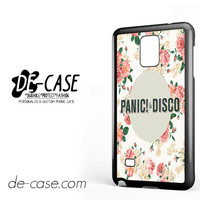 Panic At The Disco Floral For Samsung Galaxy Note 4 Case Phone Case Gift Present YO