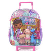 Disney Doc McStuffins ''We All Care'' Rolling Backpack - Kids