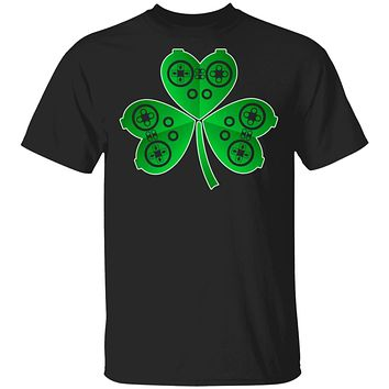 Video Game Controller St Patrick's Day Shamrock Gift Boys