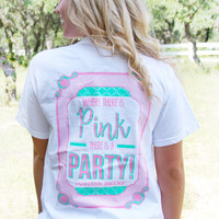 Jadelynn Brooke Pink Party Short Sleeve Tee PNKPARTY-SS