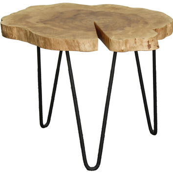"""Tress 20"""" Coffee Table, Natural"""