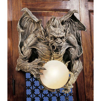 Park Avenue Collection Merciless The Gargoyle Sconce