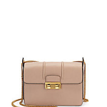 Lanvin - Jiji Mini Leather Chain Shoulder Bag - Saks Fifth Avenue Mobile