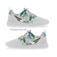 Nike Roshe Run With Swarovski Crysral Rhinestones - Bling Nikes, Bling Shoes, Blinged Out Nikes