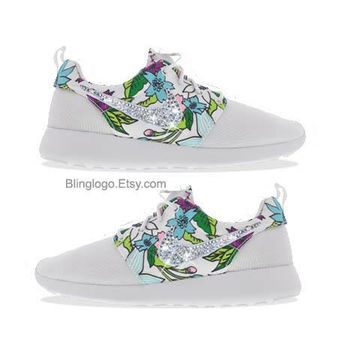 Nike Roshe Run With Swarovski Crysral Rhinestones - Bling Nikes 8863e6f579