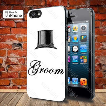 Groom Case For iPhone 5, 5S, 5C, 4, 4S and Samsung Galaxy S3, S4
