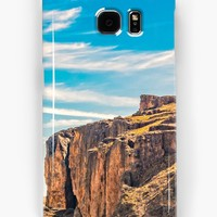 'Rocky Mountains Patagonia Landscape - Santa Cruz - Argentina' Samsung Galaxy Case/Skin by DFLC Prints