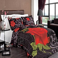 Hayden 100% Eyptian Cotton 3PC Duvet Cover Set