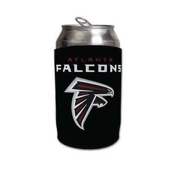 Licensed Official New NFL Atlanta Falcons Soda Can Bottle Beer Holder Koozie Neoprene Cooler