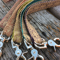 Lace Lanyards in rich and rustic colors