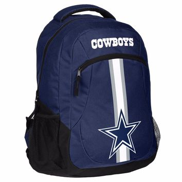 Dallas Cowboys Logo Action BackPack School Bag New Back pack Gym Travel Book