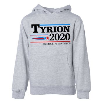 Tyrion 2020 I Drink And I Know Things Unisex Hoodie