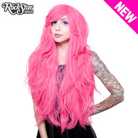 "RockStar Wigs® <br> Hologram 32"" - Atomic Hot Pink -00620"