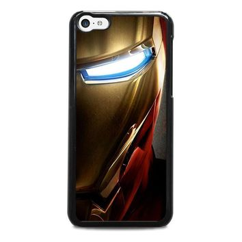 iron man face iphone 5c case cover  number 1