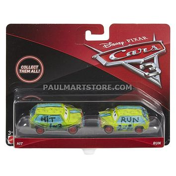 Cars 3 Diecast 1:55 Scale Movie Moments 2 pack- Hit and Run