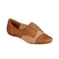 Womens Not Rated Jolly Oxford Casual Shoe, Tan, at shi by Journeys