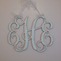 "Monogrammed Gifts , Home Decor, 24"" Wooden Monogram, Wall Art, Initial monogram,Wedding Decor"