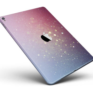 """Pink and Blue Shimmering Orbs of Light Full Body Skin for the iPad Pro (12.9"""" or 9.7"""" available)"""