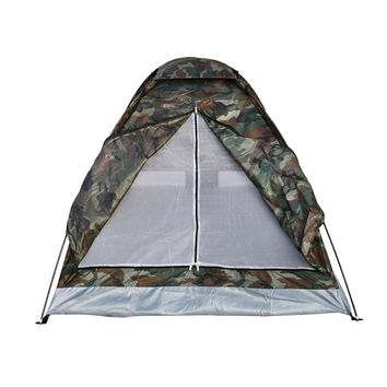 2.6 lbs (1.2kg) 2 Person Tent Ultralight Single Layer Tent with Carry Bag
