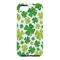Lisa Argyropoulos Shimmering Shamrocks Cell Phone Case