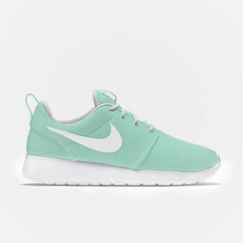 SALE 20% OFF Mint Painted Nole Roshe Run Sneakers