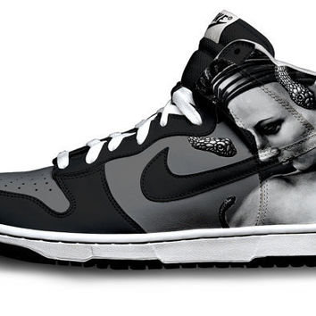 Medusa Nike Dunks by Customs4you on Etsy