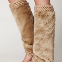 Free People Fur Legwarmer at Free People Clothing Boutique