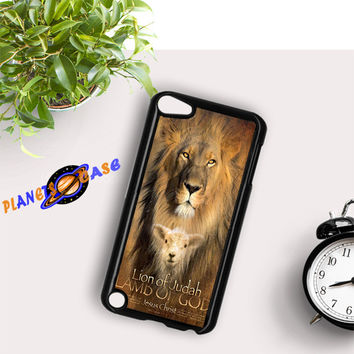 Lion Quote Bible Verse iPod Touch 6 Case Planetscase.com