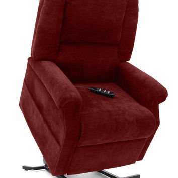 Mega Motion Easy Comfort Power Lift Chair Recliner FC-101 Chianti Red