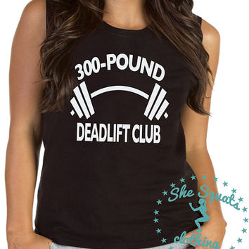 Deadlift Club Crossfit Womens Workout Tank, Gym Tank, Running Tank, Gym Shirt, Running Shirt, Workout Shirt, crossfit tank, workout clothes