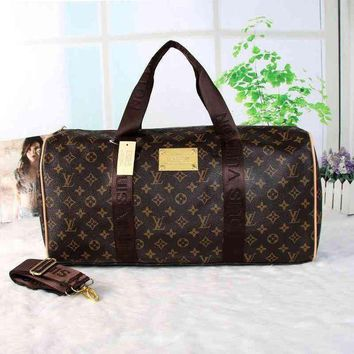 PEAPN1O Day First LV Women Travel Bag Leather Luggage Travel Bags Tote Handbag