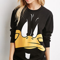 Daffy Duck Graphic Sweatshirt