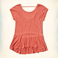 Easy Peplum T-Shirt