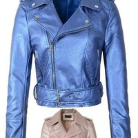 Pearlized Moto Jacket - 2 colors