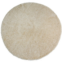 "Sands Goa Camel Super Thick Shag Area Rug (7'6"" Round)"