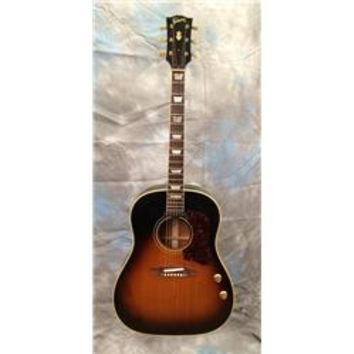 Gibson Vintage 1966 Gibson J160E Sunburst Acoustic Electric Guitar | GuitarCenter