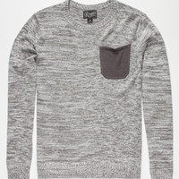 Retrofit David Sweater Gray  In Sizes