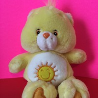 2002 Care Bear Funshine Bear Plush