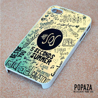 5 Seconds Of Summer logo iPhone 4 | 4S Case Cover