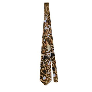 For Big Cats Neck Tie