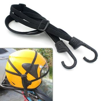 ac NOOW2 Practical Luggage Helmet Net Rope Belt Straps Bungee Cord  Elastic Strap Cable Motorcycle String Bag Refit Accesorry E#A