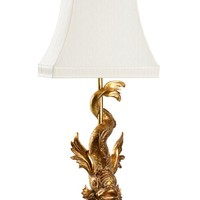 IMPERIAL DRAGON LAMP | GOLD