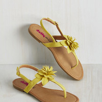 Bloom with a View Sandal