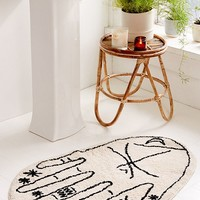 Palmistry Bath Mat | Urban Outfitters