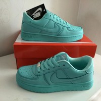 """Nike Air Force 1"" Women Sport Casual Candy Colors Low Help Plate Shoes Sneakers"