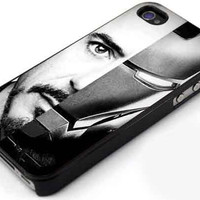 Robert Downey Jr Iron Man for iphone , samsung galaxy, ipod case