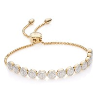 Monica Vinader Fiji Beaded Chain Diamond Bracelet | Nordstrom